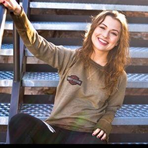 🔥 Rare🔥 Harley Davidson woman sweatshirt XL